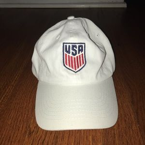 Other - White USA Soccer hat